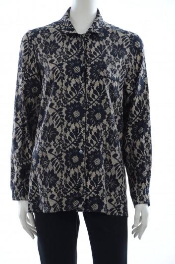 Dolce & Gabbana Women Printed Long Sleeve Shirt - F5G49T FSAH4