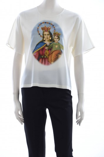 Dolce & Gabbana Women Virgin Jewel Blouse - F7W33Z HP1ZV