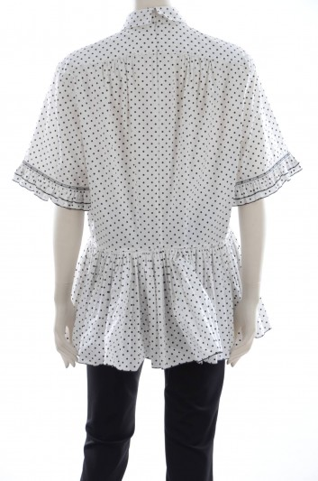Dolce & Gabbana Women Printed Oversize Blouse - FTATMT FSFCG