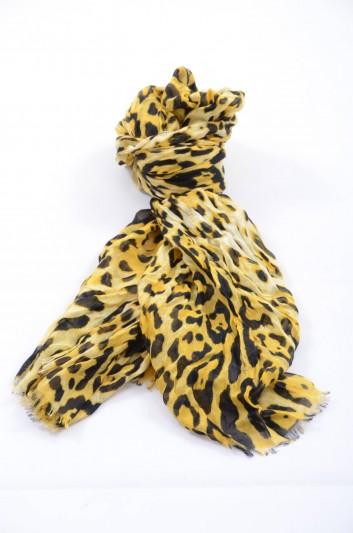 Dolce & Gabbana Women Leopard Print Foulard - FP545R G9000