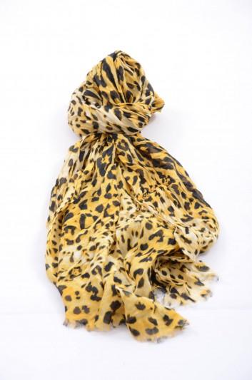 Dolce & Gabbana Women Print Animal Foulard - FP538R G3S22