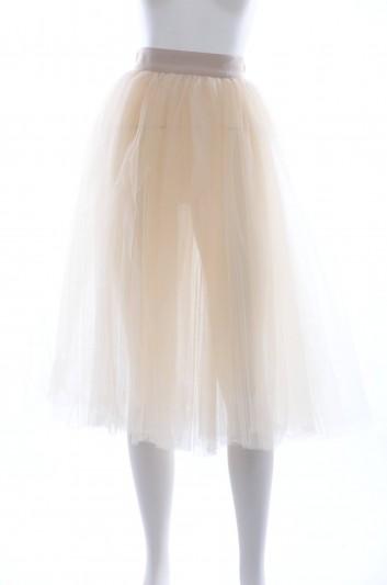 Dolce & Gabbana Women Tulle Midi Skirt - FLG042 FLMRW