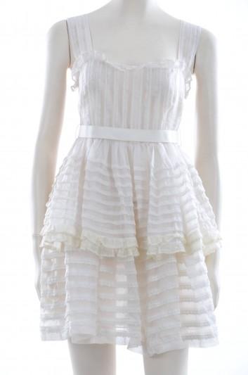 Dolce & Gabbana Women Ruffles Short Dress - F6GX6T FU1BU