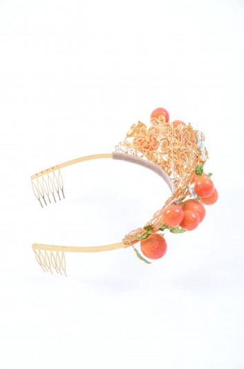 Dolce & Gabbana Women Oranges Jewel Headband - WDI2A1 W0001