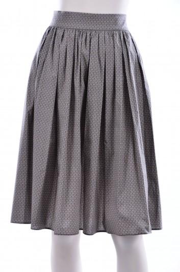 Dolce & Gabbana Women Border Print Midi Skirt - F4AJ3T FSECG