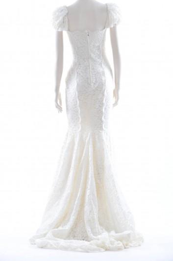 Dolce & Gabbana Women Bride Guipur Long Dress - F6WD8T FLMY1