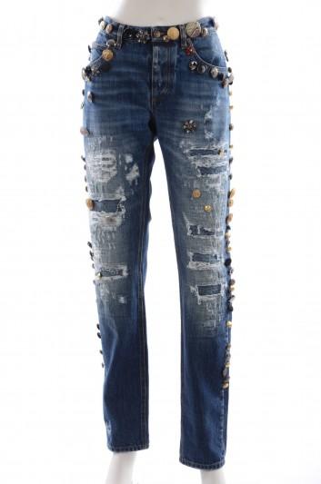 Dolce & Gabbana Women Denim Trousers - FTAXLZ G8S38