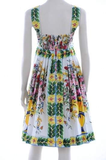 Dolce & Gabbana Women Printed Short Dress - F65M1T HP5CY