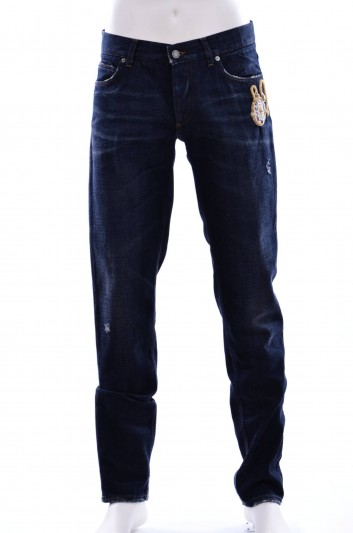 Dolce & Gabbana Men Denim Trouser - G6OLLZ G8T91
