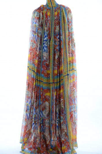 Dolce & Gabbana Women Silk Dress-Coat - F0P34T HP1IG