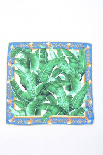Dolce & Gabbana Women Banana Leaf Print Foulard - FN093R GD835