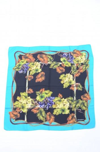 Dolce & Gabbana Women Grapes Printed Foulard - FN090R GDG51