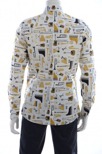 Dolce & Gabbana Men Long Sleeve Shirt - G5EB7T FS52Y
