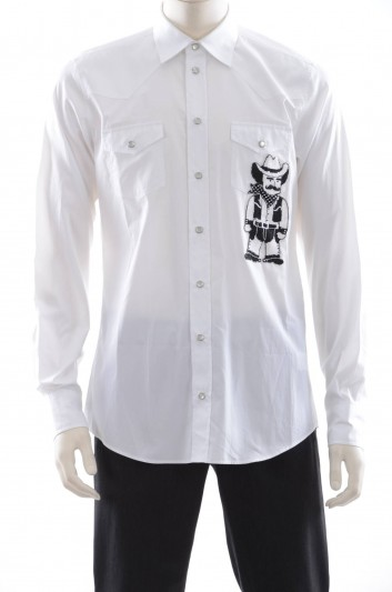 Dolce & Gabbana Men Long Sleeve Shirt - G5DU9Z GE657