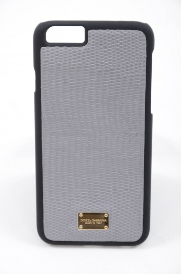 Dolce & Gabbana Funda Iphone 6/6S Piel Estampada Hombre - BI2123 BP198