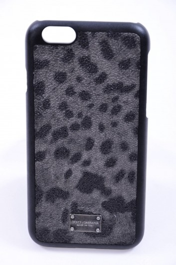 Dolce & Gabbana Funda Iphone 6/6S Estampado Leopardo Hombre - BP2123 A7359