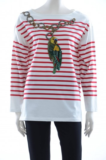 Dolce & Gabbana Women Long Sleeve T-shirt - F8H56Z G7KJY