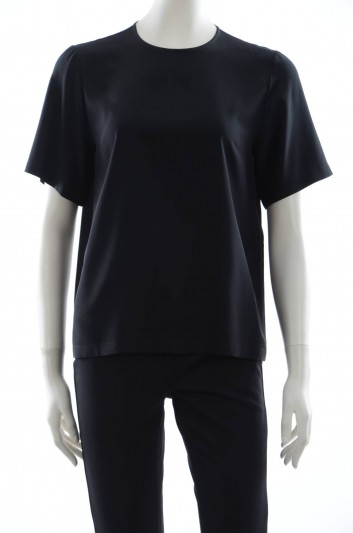 Dolce & Gabbana Women Silk T-shirt - F7S68T FU1HS