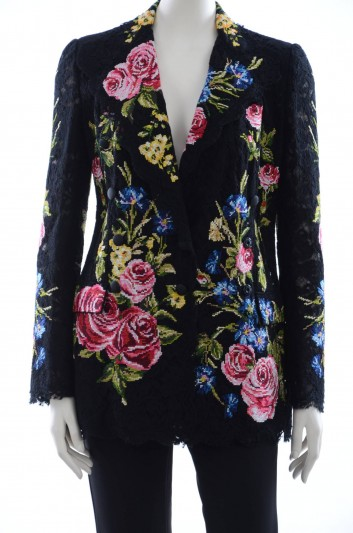 Dolce & Gabbana Women Guipure Blazer - F299OZ GD88Q