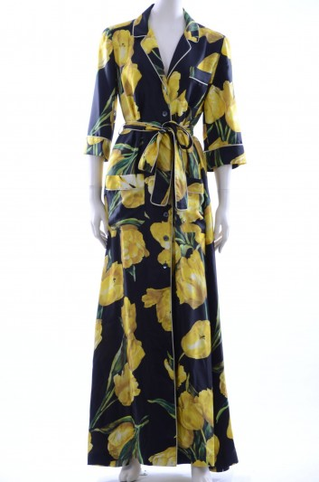 Dolce & Gabbana Women Tulip Printed Long Dress - F6YW4T HS1E5