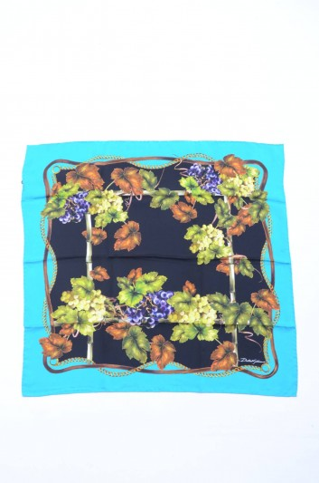 Dolce & Gabbana Women Grapes Printed Foulard - FN092R GDG50