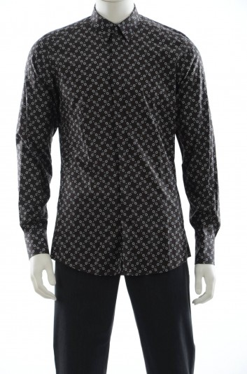Dolce & Gabbana Men Flowers Print Shirt - G5DS4T FS50K