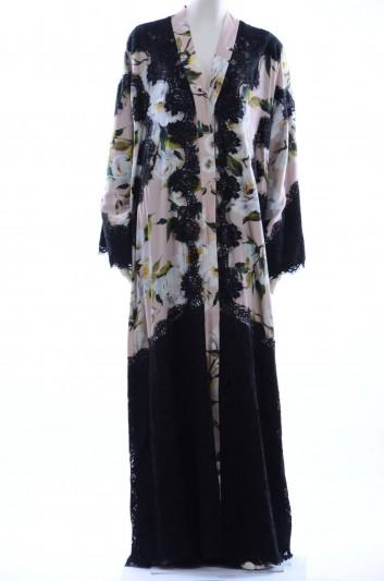 Dolce & Gabbana Women Print Animal Abaya - F6WB6T FSAP9