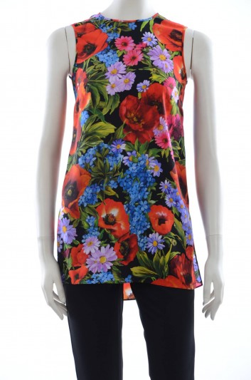 Dolce & Gabbana Women Flowers Top - F7X54T FSAQX