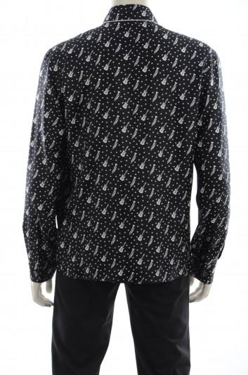 Dolce & Gabbana Camisa Guitarras y Trompetas Hombre - G5DY1T HS1H7