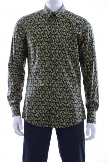 Dolce & Gabbana Camisa Cactus Estampados Hombre - G5DY4T FS5RL