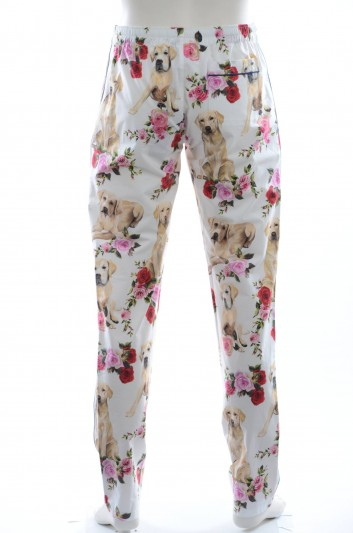 Dolce & Gabbana Men Cotton Trousers - GY15HT FS55K