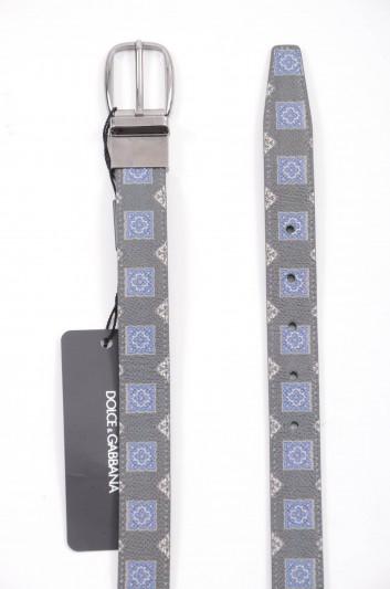 Dolce & Gabbana Cinturón Reversible Hombre - BC3954 AP346