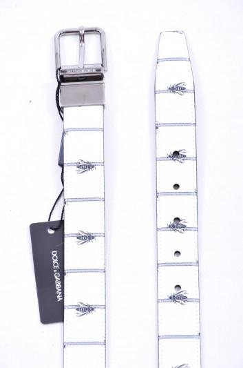Dolce & Gabbana Men Reversible Logo Belt - BC4107 AB059