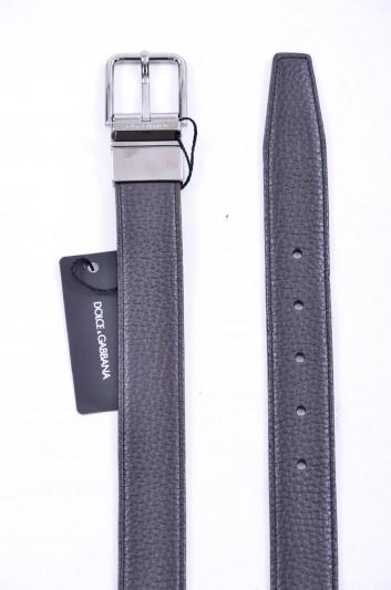 Dolce & Gabbana Men Logo Reversible Belt - BC4107 AB706