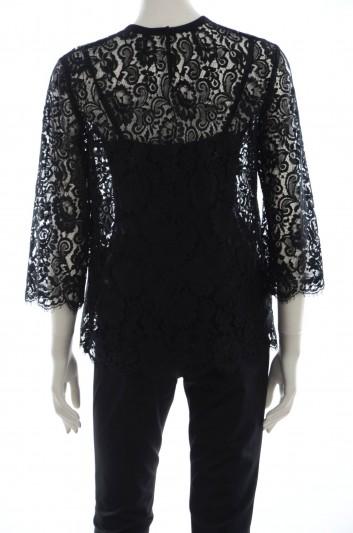 Dolce & Gabbana Women Lace Top - F7Z14T FLM4J