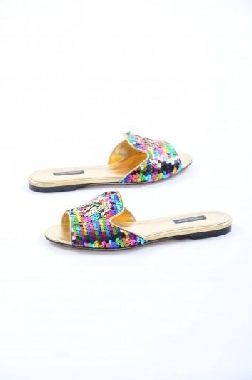 Dolce & Gabbana Women Flat Sandals - CQ0075 AG770