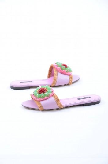 Dolce & Gabbana Women Flat Sandals - CQ0141 AG779