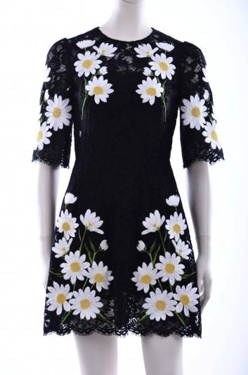Dolce & Gabbana Women Lace Short Dress - F6UM9Z GD55G