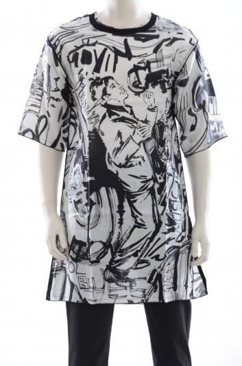 Dolce & Gabbana Men Grafitti T-shirt - G5EH4T FP2B8