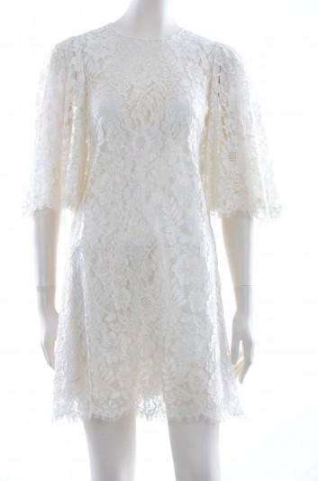 Dolce & Gabbana Women Lace Short Dress - F6ME8T FLMKW