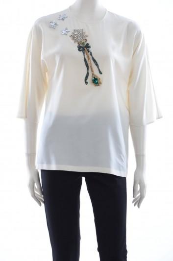 Dolce & Gabbana Blusa Varita Mujer - F7Z00Z G7JDT