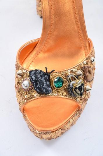 Dolce & Gabbana Sandalias De Tacón Mujer - CR0457 AS298