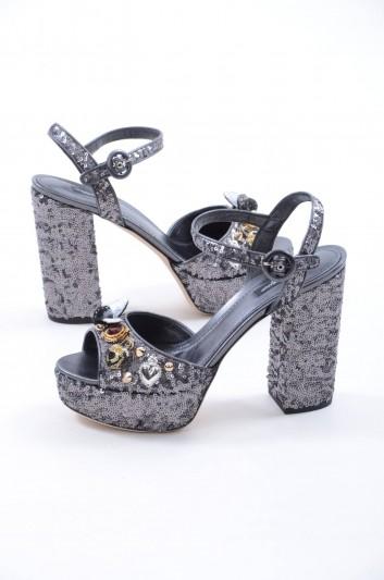 Dolce & Gabbana Sandalias De Tacón Mujer - CR0457 AS299