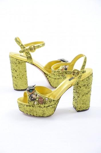 Dolce & Gabbana Sandalias De Tacón Mujer - CR0457 AH633