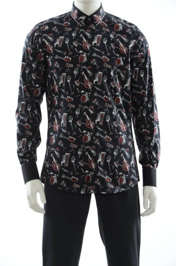 Dolce & Gabbana Men Long Sleeve Shirt - G5EE4T FS52X