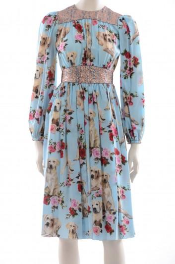 Dolce & Gabbana Women Mimo The Dog Midi Dress - F65S1T HS1N1