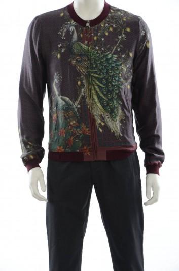 Dolce & Gabbana Peacock Men Jacket - G9GE6T G7GWA