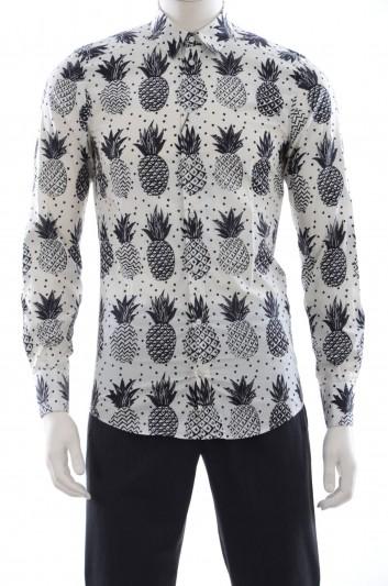 Dolce & Gabbana Camisa De Manga Larga Hombre - G5DY4T FS530