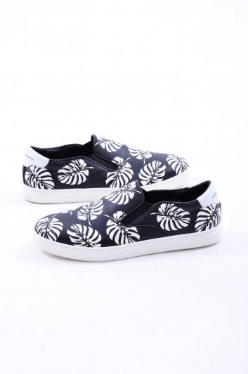 Dolce & Gabbana Sneakers Hoja de Palma Hombre - CS1365 AE900