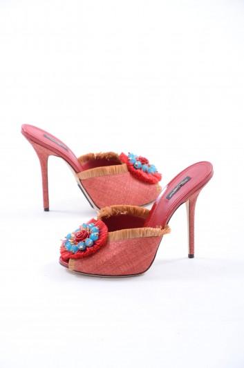 Dolce & Gabbana Sandalias De Tacón Mujer - CR0356 AG871